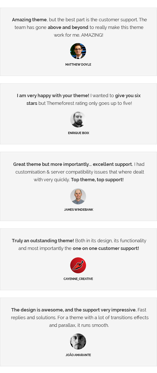 Salem - Clean and Bold One Page WordPress Theme - 3