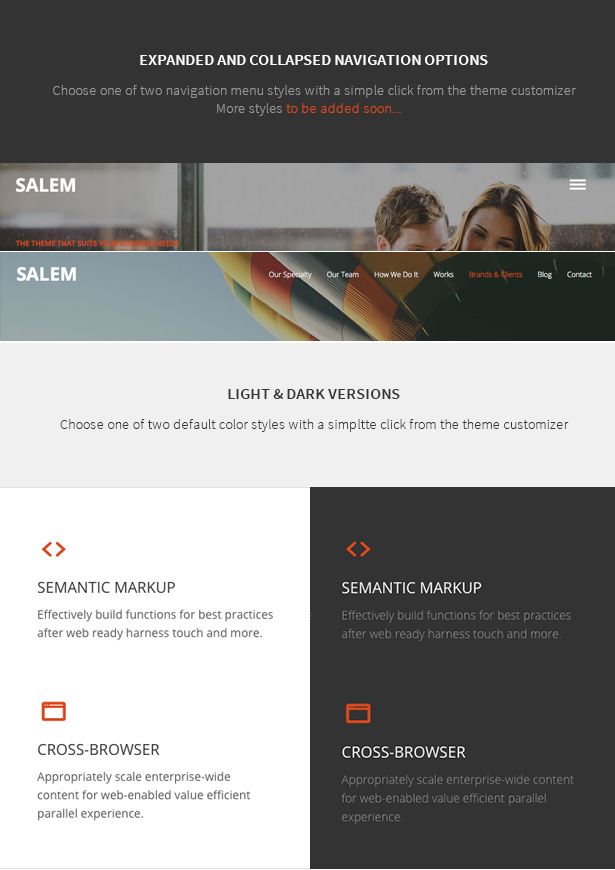 Salem - Clean and Bold One Page WordPress Theme - 6